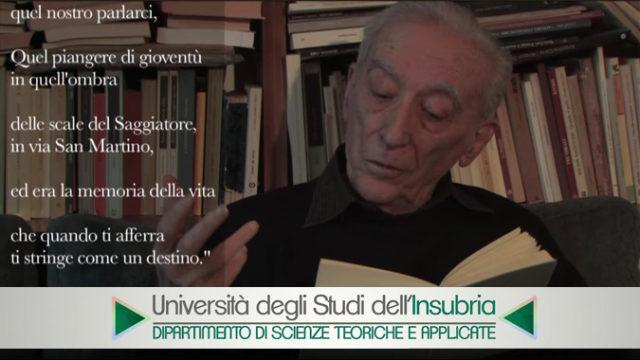 Il Poeta - DiSTA Lab - Università degli Studi dell'Insubria