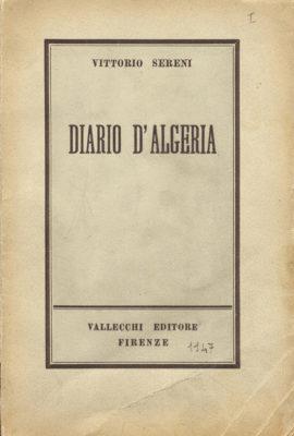 Diario d'Algeria 1947 Vallecchi